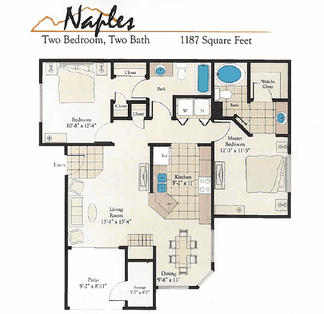Bella Terra Naples Floor Plan