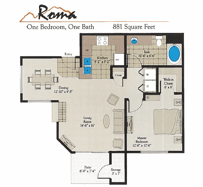 Bella Terra Roma Floor Plan
