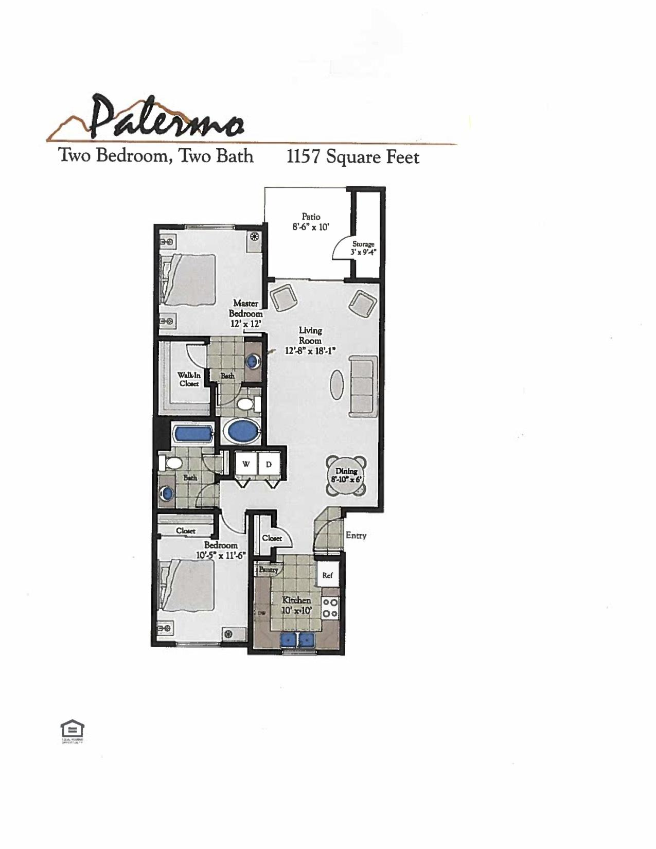 Bella Terra Palermo Floor Plan
